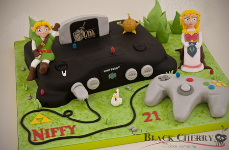 Ocarina of Time / Nintendo 64 Cake | All Geeks | Scoop.it