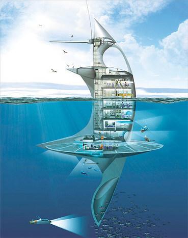 Habiter sur l'eau en itinérance: réalité ou utopie ?   Architecture pour tous   Scoop.it