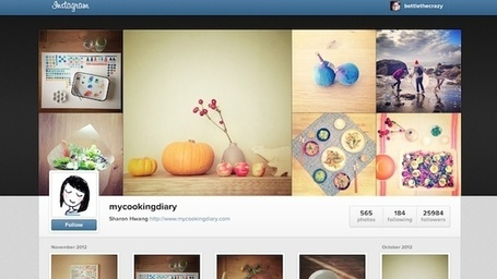 Instagram Rolls Out Web Profiles | Social Media Today | MobileandSocial | Scoop.it