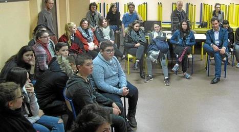 La Devise a suscité le questionnement du public   Le lycée agricole de Caulnes   Scoop.it