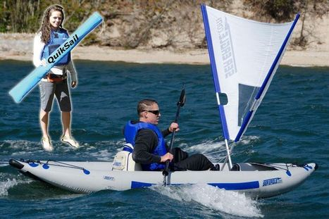 QuikSail- Universal Kayak Sail | Paddle Sports | Scoop.it