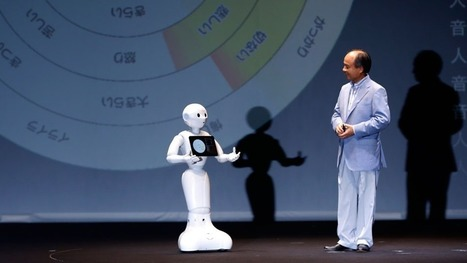 "Emotional robot Pepper sells out after 1,000 units bought in one minute | L'impresa ""mobile"" 