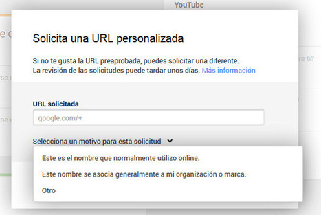 Google+ amplía la disponibilidad de URL personalizadas | Mi caja de herramientas by Lisandro Cilento | Scoop.it