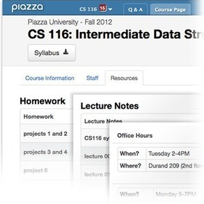 Yale Teaching Center: Using Piazza to Facilitate Peer Instruction   peer instruction   Scoop.it