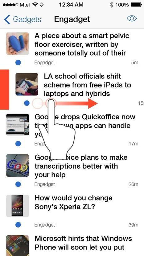 Inoreader: iOS app is now available at iTunes! | RSS Circus : veille stratégique, intelligence économique, curation, publication, Web 2.0 | Scoop.it