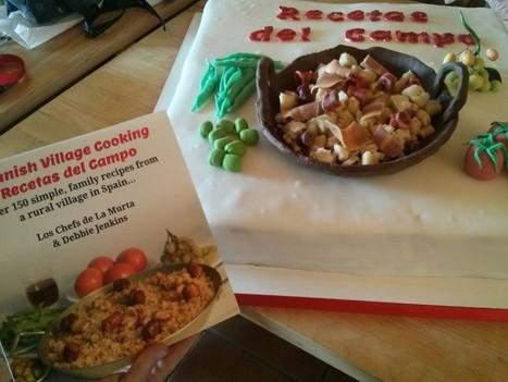 Book Launch Cake for Spanish Village Cooking – Recetas del Campo   Cocina   Scoop.it