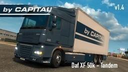 DAF XF 50k Tandem v1.4 | ETS2 | Scoop.it