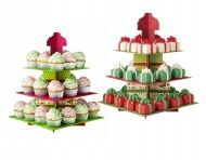 Wilton cupcake holiday treat stand Christmas | Candy Buffet Weddings, Events, Food Station Buffets and Tea Parties | Scoop.it