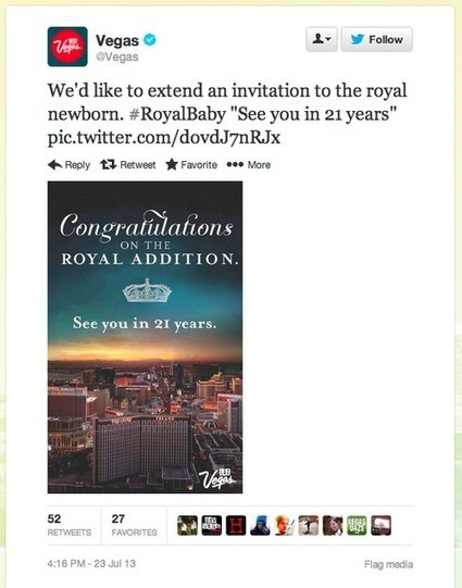 The throne awaits you, the adverts don't... (Royal Baby in advertising) | EXTRASIDE | Scoop.it