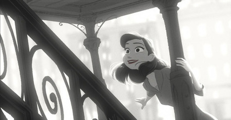 A Full-Circle Artist Effect: Black-and-White Animation | the Gonzo Trap | Scoop.it