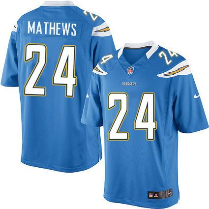Mens Ryan Mathews Jersey-Mens Nike San Diego Chargers #24 Ryan Mathews Limited Electric Blue Alternate NFL Jersey | Ryan Mathews Jersey | Scoop.it