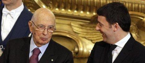 Renzi al Quirinale rassicura sulle riforme, ma Napolitano è incerto: dimissioni in anticipo? - InfoOggi.it | Politikè | Scoop.it