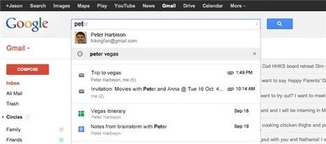 La recherche de Gmail s'améliore, celle de G+ permet de trouver des chats   Adopter Google+   Scoop.it