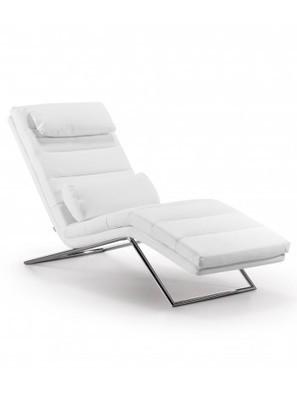 Aposto chaise lounge imbottita e rivestita in tessuto o ecopelle. - Livflex | Poltrona Relax personale comodità e riposo | Scoop.it