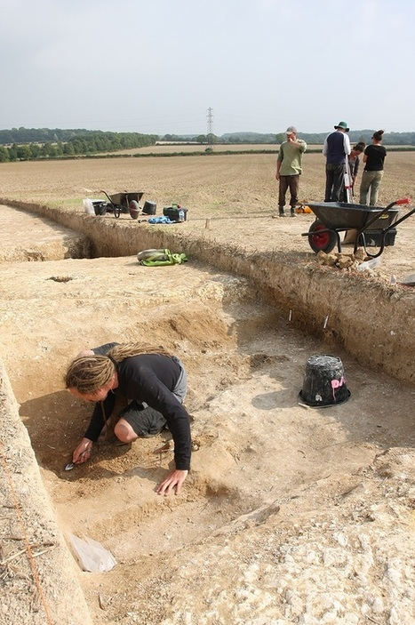 Archaeological dig near Stonehenge uncovers sink hole of evidence from Neolithic period | Mégalithismes | Scoop.it