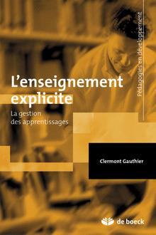 Enseignement explicite et réussite des élèves - La gestion des apprentissages | Nouveautés juillet 2013 | Scoop.it