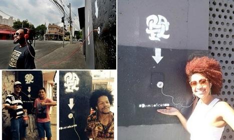Rapper espalha dispositivos contendo seu álbum pelas ruas para que qualquer um possa ouvir | Out of Home | Scoop.it