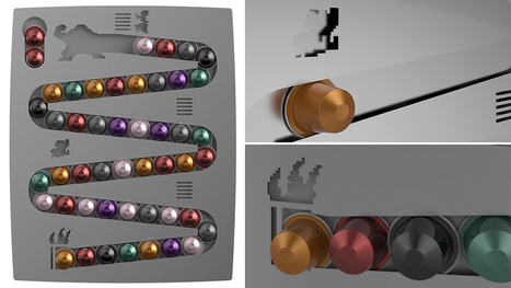 An Awesome Donkey Kong Rack For Your Terrible Coffee Capsules   Gadgetism   Scoop.it