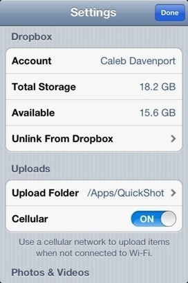 How to Automatically Sync iPhone Photos with Dropbox | Folkbildning på nätet | Scoop.it