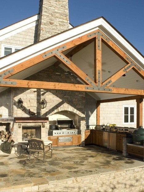 Patio Cover Wood Design Ideas, Pictures, Remodel, and Decor | Back Patio Cover Designs in Buford | Scoop.it