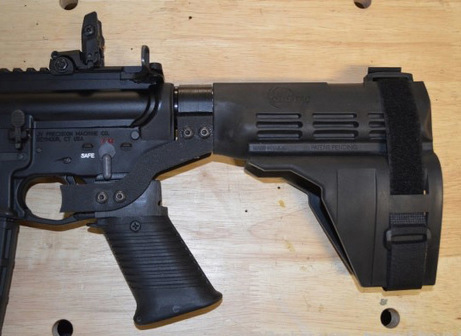 AR Pistol Bumpfire Sig SBX Arm Brace, Someone Actually Made One   Armory Blog   Firearms   Scoop.it