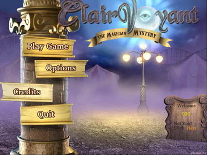 Clairvoyant: The Magician Mystery Review   CasualGameGuides.com   clairvoyant the magician   Scoop.it