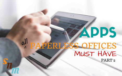 Apps All Paperless Offices Must Have (Part 2) | Linguagem Virtual | Scoop.it