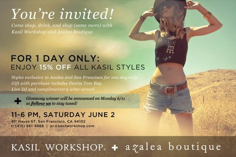 Sale| Azalea Boutique, San Francisco, 6/2 | San Francisco | Around Town | Scoop.it