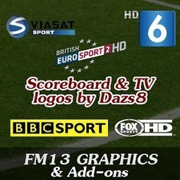 Download Scoreboard and TV logos for Football Manager 2013 Part of Misc Graphics: Passion for Football Manager | a easy way to live your life | Scoop.it