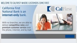 California First National Bank Savings/Money Market, CD Promotions | MoneysMyLife | Scoop.it