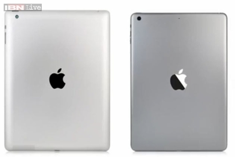 Apple iPad 5 now revealed in high-quality leaked images | Macwidgets..some mac news clips | Scoop.it