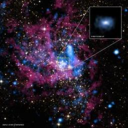 NASA's Chandra Observatory catches giant black hole rejecting material | JOIN SCOOP.IT AND FOLLOW ME ON SCOOP.IT | Scoop.it