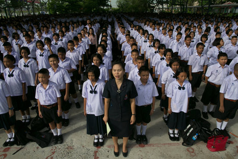 Thai Students Find Government Ally in Push to Relax School Regimentation | Education Tussles | Scoop.it