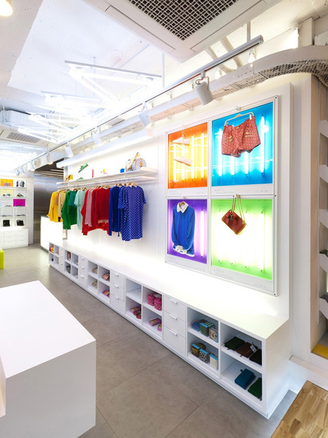 Spicy Color Flagship Store by m4 » Retail Design Blog | R A N D O M S T Y L E | Scoop.it