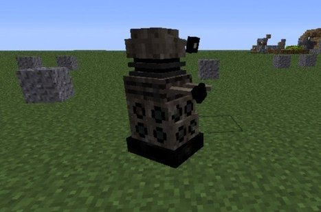 Download The Dalek Mod - Doctor Who Mod, Daleks and more [1.7.2/1.7.5] | Minecraft Mods | Scoop.it