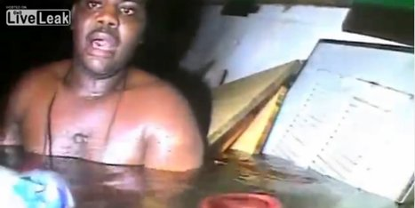 WATCH: Man Rescued From Sunken Ship After 3 Days Trapped Under Sea   DAAAMN!   Scoop.it