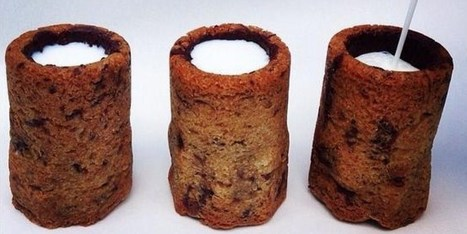 Le cookie shot de lait : nouvelle création de Dominique Ansel | Huffington Post | Actu Boulangerie Patisserie Restauration Traiteur | Scoop.it