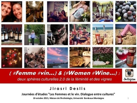 ( #Femme #vin…) & (#Women #Wine…) : deux sphères culturelles 2.0 de … | Communication narrative & Storytelling | Scoop.it