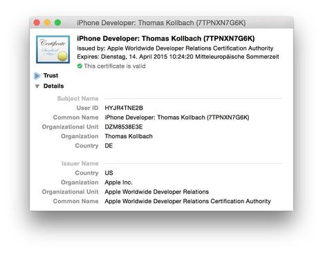 Inside Code Signing - Security - objc.io issue #17 | iOS-Android Utils & Tutorials | Scoop.it