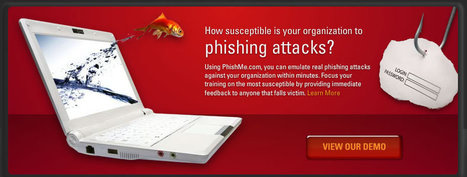 PhishMe - Spear Phishing Awareness Training | eLearning worth eKnowing | Scoop.it
