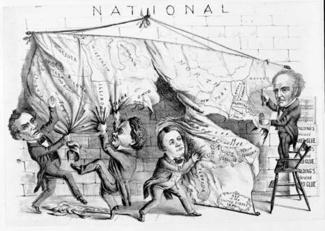 Political Cartoon | EDCI-5080 Annotated Bibliography: The Civil War | Scoop.it