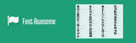 integration font icons html/css mobile ready retina responsive design | Blog développeur frontend | Scoop.it