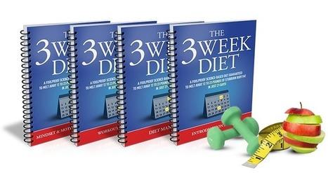 3 Week Diet Plan   Health   Scoop.it