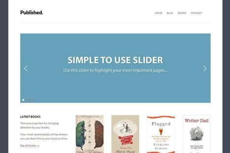 Author - Responsive Wordpress Theme | Free Download *this week only* | Tech | Scoop.it