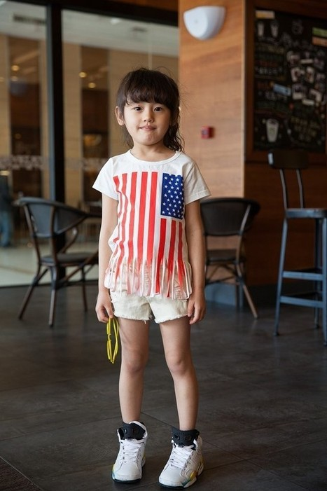 Baby Girl Short Sleeve Shirt America Flag Print Pieces Bottom | Clothing at SMA-STAR | Scoop.it