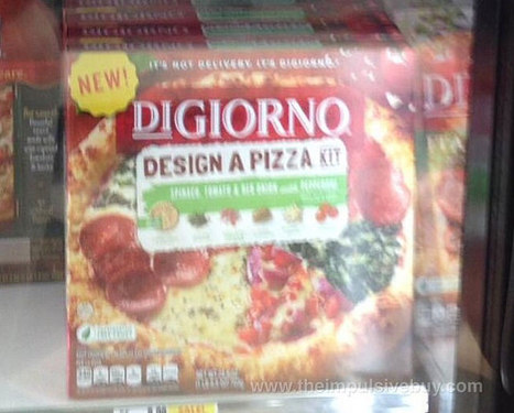 DiGiorno Thinks We Want To Design Our Own Frozen Pizzas | Troy West's Show Prep | Scoop.it