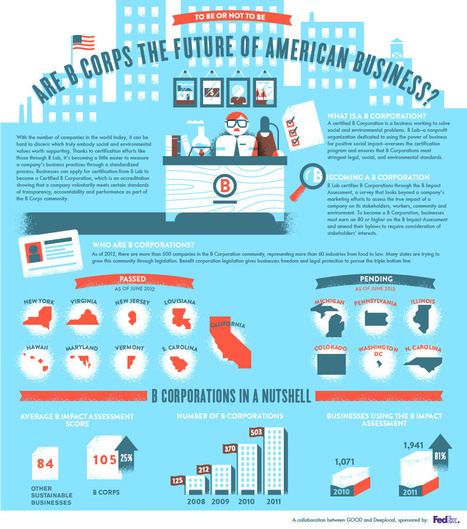 GOOD.is | Infographic: What's a B Corporation? (Raw Image) | Social Media Resources & e-learning | Scoop.it