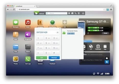 Prise en main de AirDroid 2, pour contrôler son Android à distance | TICE, Web 2.0, logiciels libres | Scoop.it