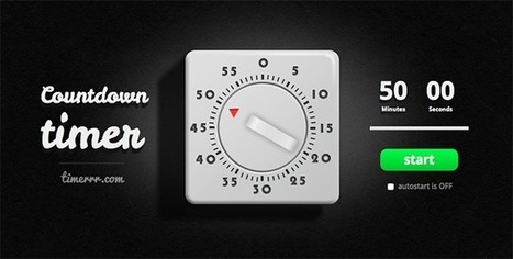 6 Useful Timers and Clocks For Your Computer or Phone | Websites I Found So You Don't Need To | Scoop.it