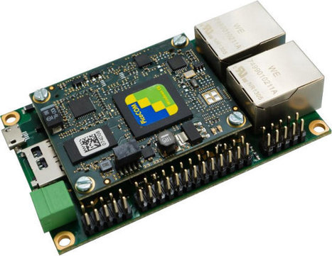 PCOMnetA5 is a Small Dual Ethernet Board Powered by Freescale Vybrid Processor | Embedded Systems News | Scoop.it